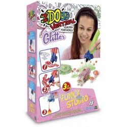 Набор для детского творчества с 3D-маркером - ЛЕСНЫЕ ДРУЗЬЯ