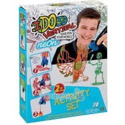 Набор для детского творчества с 3D-маркером - СКЕЛЕТОН И ФЕНИКС