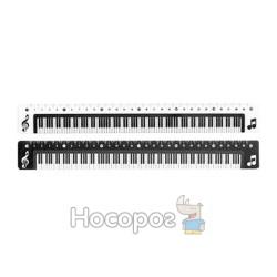 Линейка OL-2136 30см Пианино