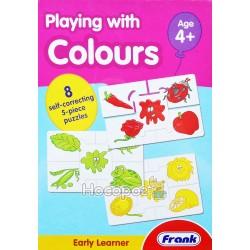 """Пазл """"Играем с цветами"""" Frank"""