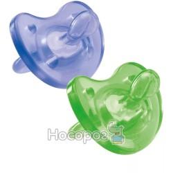 Пустышка Physio Soft силиконовая (цветная)