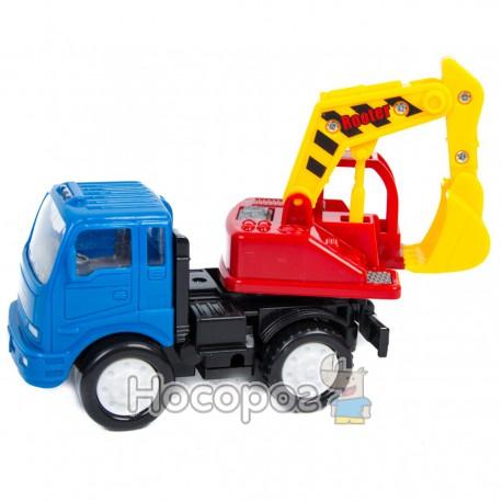 Вантажівка-екскаватор Т 2302 R (інерційна для малюків) Спецтехника