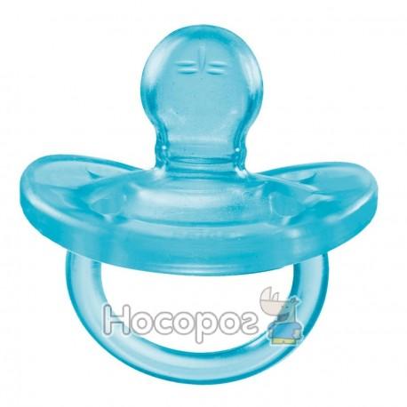 Фото Пустушка Physio Soft силіконова від 6 до 12 місяців 1шт. (блакитна)