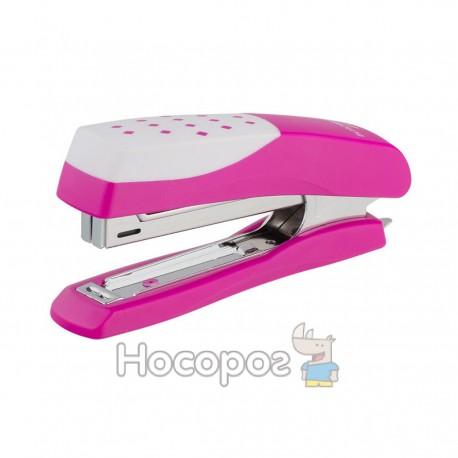 Степлер Buromax №10 розовый 4131-10
