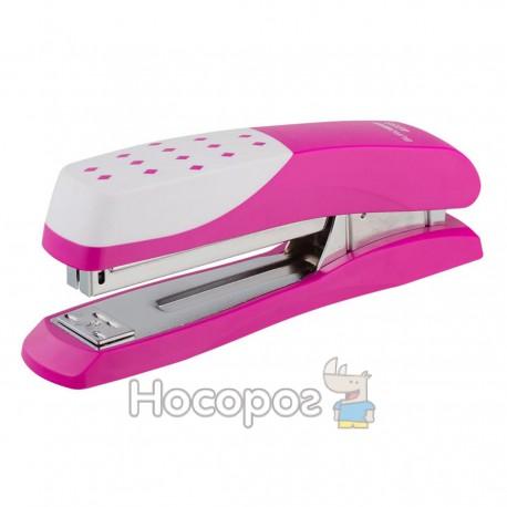 Степлер Buromax №24,26 розовый 4233-10
