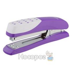 Степлер Buromax №24,26 фиолетовый 4233-07