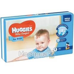 Подгузники Huggies Ultra Comfort 4 Jumbo для мальчиков 50 шт (5029053565385)