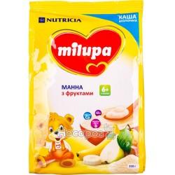 """Каша молочная """"Milupa"""" манна с фруктами"""