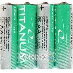 Батарейки сольові Titanum LR6/AA
