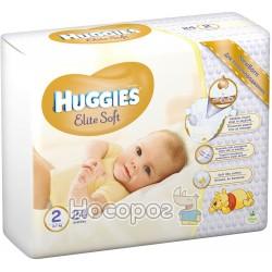 Подгузники Huggies Elite Soft 2 Conv 24 шт (5029053564906)